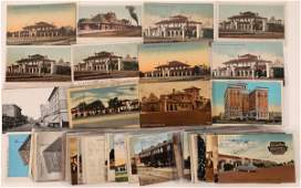 Fresno Depot, Hotel and Bank Postcards-65 (126486)