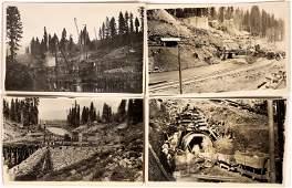 Big Meadows Dam Real Photo Postcard Historical