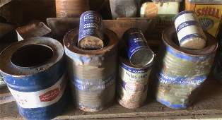 Union Calcium Carbide Miners Lamp Tin Collection 7