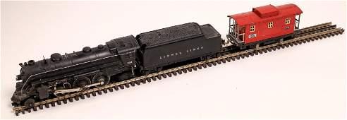 Lionel Locomotive, Tender, and Caboose [133020]