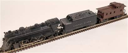 Lionel Locomotive, Tender, and Caboose [133043]