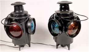 Peter Gray Switch Stand Marker Lanterns - 2 [133375]