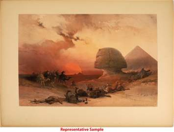 David Roberts Folio Lithographs of Egypt and the Holy