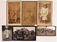 Geronimo Photograph Collection, Cabinet Cards (4),