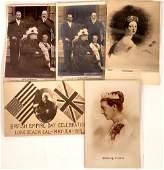 Queen Victoria Postcards - 5 B&W [129054]