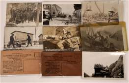 Lumber and Construction Real Photo Postcards [128361]