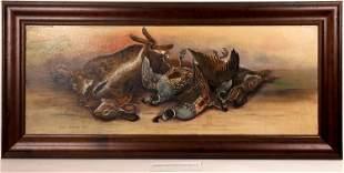Carl Schley Still Life Oil [131703]