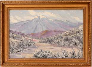 Thos. Grimm Oil Painting of Mt. Rose, 1929 [115344]