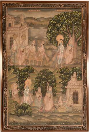 Story Painting from India  [117691]