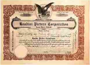 Harry Houdini signature as president of the Houdini