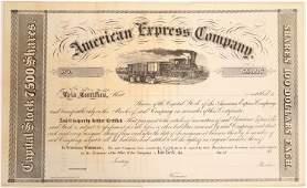 American Express Stock Certificate [132743]