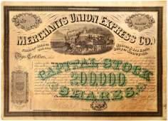 New York Merchants Union Express with President Ross