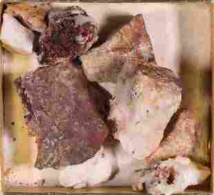 Free Gold in Quartz Pieces  [132121]