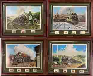 Jim Deneen Train Prints with Stamps  [121242]