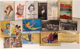 California (and other states) Advertising Postcards -