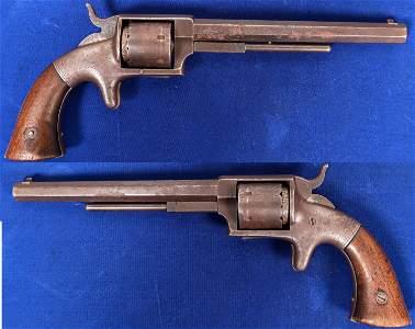 Bacon Mfg. Co. First model Navy Revolver Serial #1