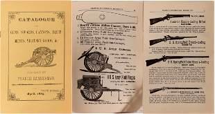 Francis Bannerman Guns, Swords, Cannons, Equipments,