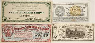 Four Pieces of Scrip incl. Ringling Bros.  [135367]