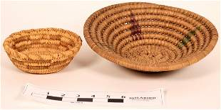 Two Early Pima Baskets [135564]