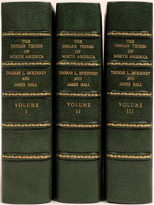 The Indian Tribes of North America, 3 Volumes, 1934