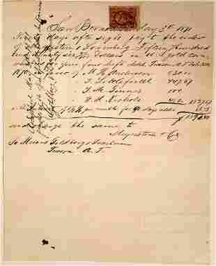 Early Letter from San Bernardino Ranch A.T.  [131767]