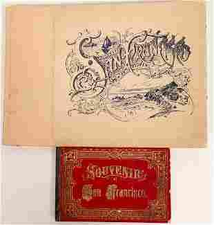 Scenic Photo Albums of San Francisco 1870s, 1894.