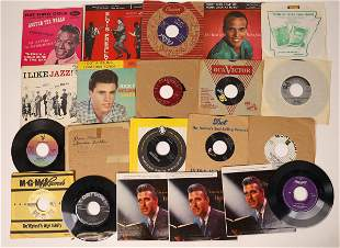 Ricky & Elvis & More 45 rpm Records  [131967]