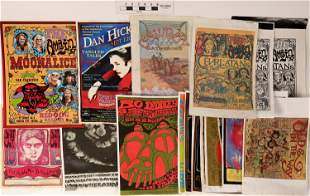 Red Dog Rock Poster Reproductions  [135533]