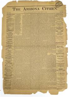 A Page From 1878 Florence A.T. Newspaper [136832]
