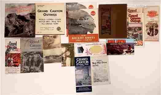 Grand Canyon Travel Brochure Collection [132688]