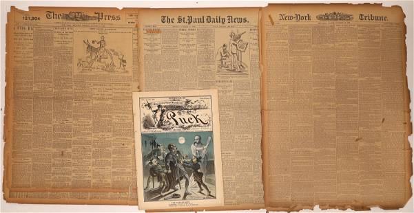 NY Newspaper Accounts of Gunfight at O.K. Corral