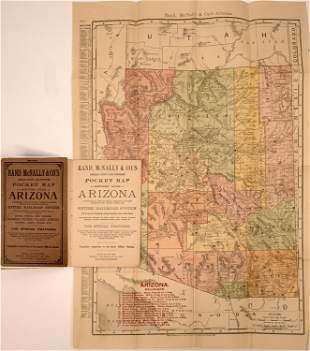 Rand McNally Pocket Map and Shippers' Guide of Arizona