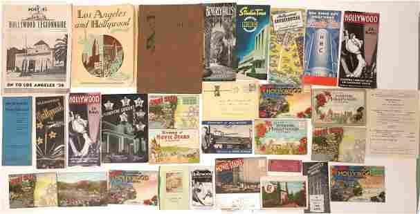 Hollywood & Beverly Hills Ephemera Collection [135778]