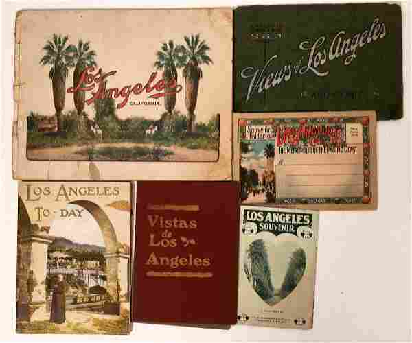 Early Los Angeles City Brochures [135821]