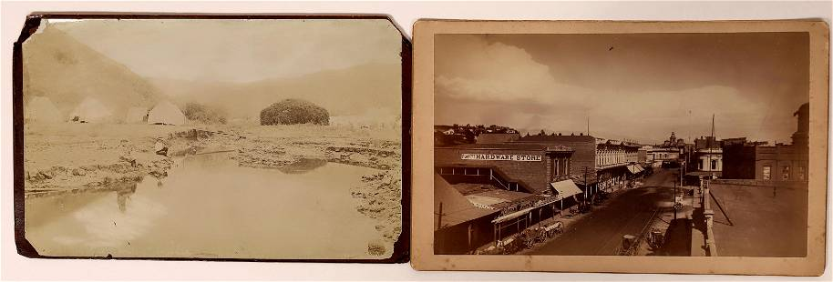Early Los Angeles, California Mounted Photographs