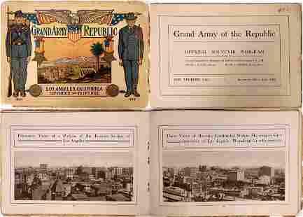 Grand Army of the Republic (GAR) Los Angeles 1912