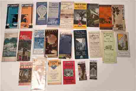 Los Angeles & Southern California Pamphlet Collection