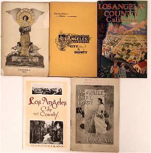 Los Angeles City & County Brochures [135197]