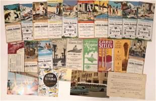 Los Angeles Ephemera (Brochures & Ink Blotters)