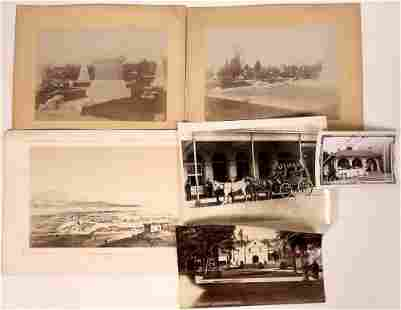 Los Angeles Photographs Plus an 1850s Lithograph