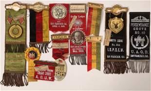 San Francisco Ribbon & Badge Collection [135943]