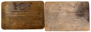 Sterling Silver PG&E Award Plates [135953]