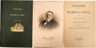 Voyages of Nicholas Ball from 1838-1853 [135624]