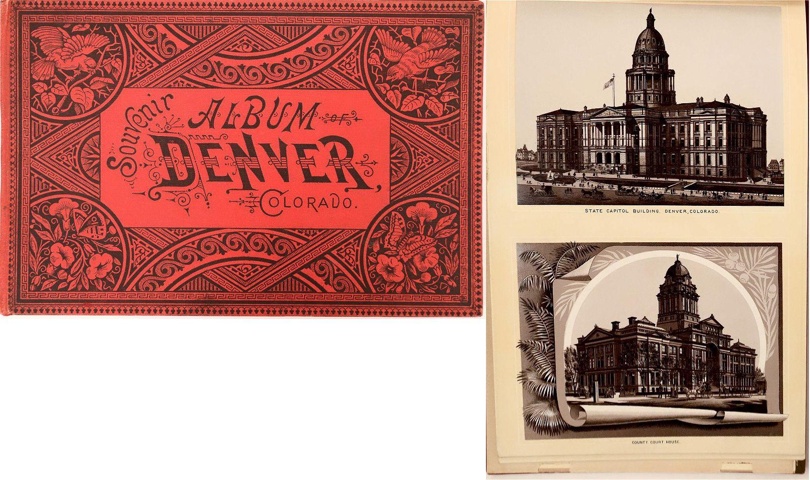 Souvenir Photo Album of Denver 1893 [132609]