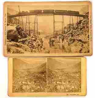 Georgetown Loop Cabinet Card & Stereoview [134173]