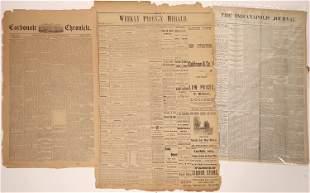 Colorado & Arizona 1885 Newspapers [136837]