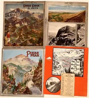 Pike's Peak Vintage Tourist Brochures [132613]