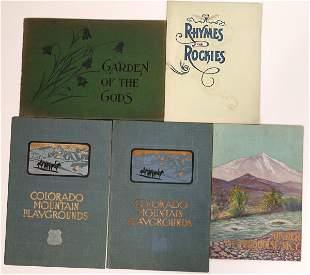 Vintage Colorado Brochures [135070]