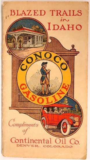 Idaho Pocket Map from Conoco Gasoline [135287]