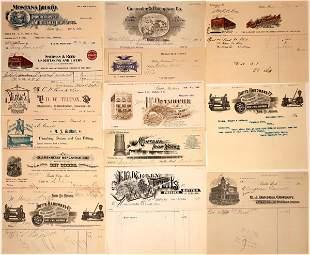 Butte, Montana Billheads ñ 1892-1907 (14) [137603]